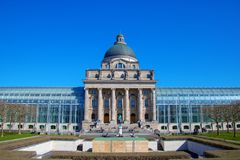 Chancellerey положения в Мюнхене стоковые фотографии rf