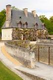 The Chancellerie. Chateau de Chenonceau. Chenonceaux. France Stock Images