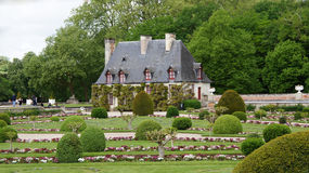 Chancellerien av chateauen Chenonceau i Loire Valley arkivbild