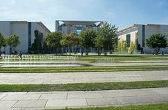 Chancellery, Berlin, Germany Royalty Free Stock Photography