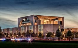 Chancellery building, Berlin, Germany