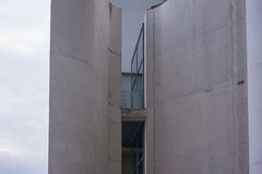 The Chancellery Building in Berlin-Mitte Stock Photography