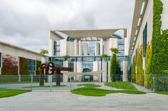 Chancellery in summer vacation Stock Photo