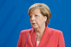 Chancellor of the Federal Republic of Germany Angela Merkel Stock Image