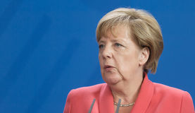 Chancellor of the Federal Republic of Germany Angela Merkel Stock Images