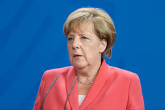 Chancellor of the Federal Republic of Germany Angela Merkel Royalty Free Stock Image