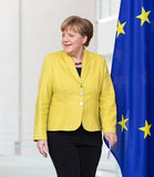 Chancellor of the Federal Republic of Germany Angela Merkel Royalty Free Stock Images