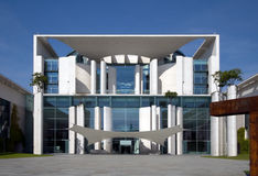 Chancellor Office Building. Look at the front of the german Chancellor's Office Building royalty free stock photos