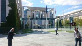 Chancellory in Berlin stockbilder