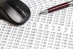 Chancen, die online wetten können lizenzfreies stockfoto