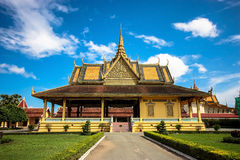 The Chanchhaya Pavilion. At the Royal Palace, Phnom Penh, Cambodia Royalty Free Stock Images