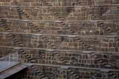 Chand Baori Arkivbilder