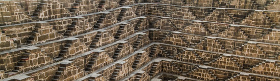 Chand Baori Royaltyfria Bilder