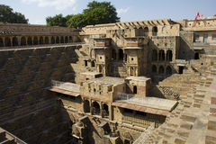 Chand Baori - deepest stepwell in world Stock Image