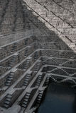 Chand Baori, one of the deepest stepwells in India stock image