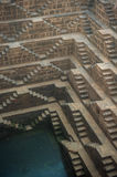 Chand Baori, one of the deepest stepwells in India Stock Photography