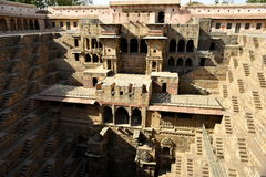 Chand Baori Step Well. India Stock Image