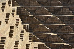 Chand Baori Step Well l'Inde Images stock