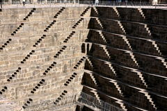 Chand Baori Step Well l'Inde Photo libre de droits