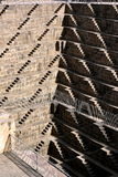 Chand Baori Step Well l'Inde Photographie stock libre de droits