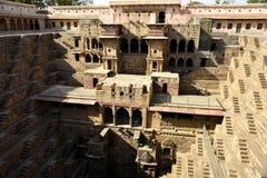 Chand Baori Step Well La India Imagen de archivo