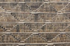 Chand Baori Stepwell, Abhaneri Royalty Free Stock Image
