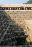 Chand Baori Stepwell in Abhaneri village, Rajasthan Stock Images