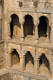 Chand Baori Stepwell i Jaipur Royaltyfri Fotografi
