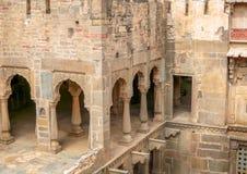 Chand Baori Stepwell, Jaipur, Rajasthán, la India imagenes de archivo