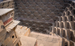 Chand Baori Stepwell in village of Abhaneri Stock Photography