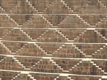 Chand Baori, a stepwell in the village of Abhaneri near Jaipur, state of Rajasthan. Chand Baori was built by King Chanda of the
