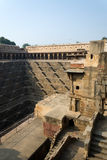 Chand Baori Stepwell in the village of Abhaneri, Rajasthan Royalty Free Stock Photo