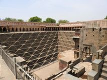 Chand Baori well, one of the deepest steps in India