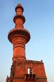Chand Minar tower in Daulatabat Fort in Maharashtra, India Royalty Free Stock Photo