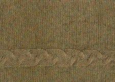 Chandail angora de knit de texture avec le fil de lurex Photos stock