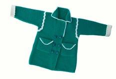 Chandail le ` s d'enfants tricoté Images libres de droits