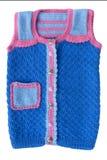 Chandail le ` s d'enfants tricoté Photos stock