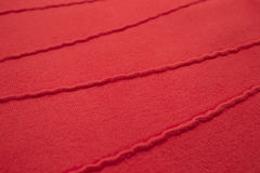 Chandail rayé rouge Photographie stock libre de droits
