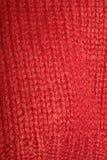 Chandail rouge photo libre de droits