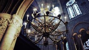 chandalier的大教堂 免版税图库摄影