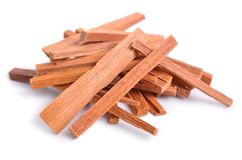 Chandan Or Sandalwood Sticks Isolated Royalty Free Stock Photography