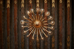 Chandelier. Antique chandelier hanging in one of the premises of Parliament Szweckiego Stock Photography