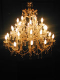 Chandelier. Image of a chandelier Royalty Free Stock Images