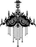 Chandelier. Stock Vector Illustration Royalty Free Stock Photo