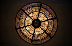 Chandelier. From below Stock Photo