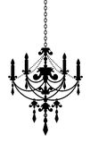 Chandelier royalty free illustration