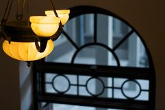 Chandelier. Lamp, hope, Chinese, view Royalty Free Stock Image