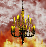 Chandelier Background Royalty Free Stock Images