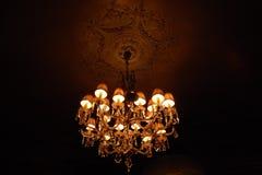Chandelier. Beautiful big chandelier Stock Photo