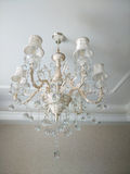 Chandelier in the bedroom Stock Photo